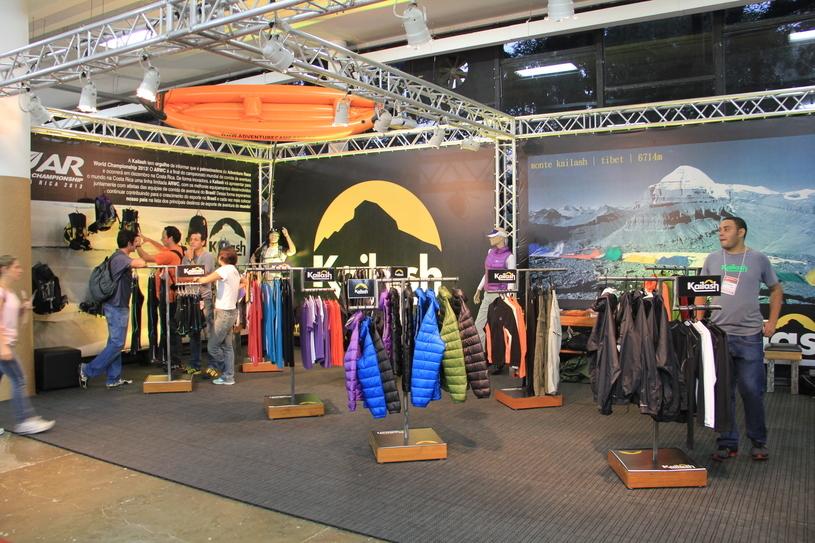 Como referência em vida ao livre, a Adventure Sports Fair traz todos os anos as marcas mais relevantes para os aventureiros Foto: Christina Volpe/Webrun