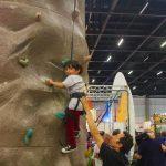 A criançada se diverte com as atrações da feira Foto: Christina Volpe/Webventure
