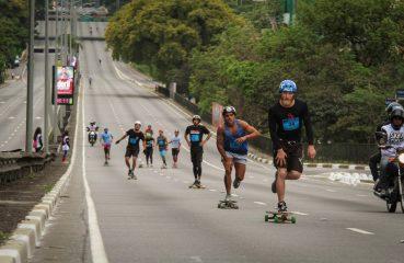 A participação na Skate Run é gratuita, mas a inscrição antecipada é obrigatória Foto: Marcelo Mug/Fotolia