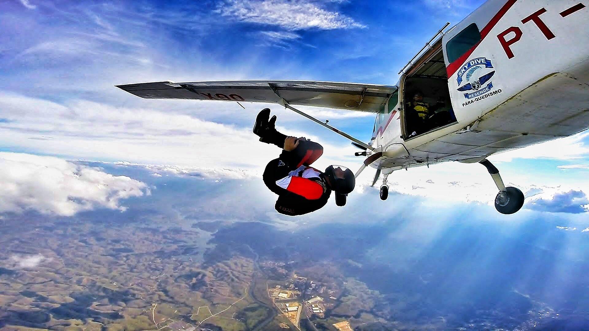Paraquedismo 6 Lugares Bel 237 Ssimos Para Saltar No Brasil
