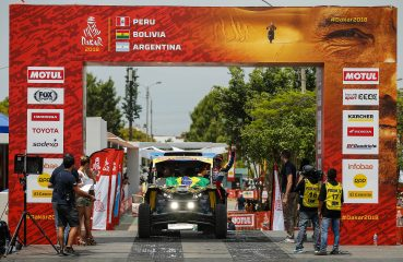 Largada do Rally Dakar 2018 Foto: Marcelo Machado de Melo/photosdakar.com