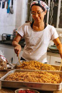 Kiki produz granola artesanal e com produtos selecionados Foto: Arquivo Pessoal
