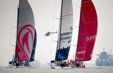 A perna é a última antes de chegar ao Brasil, pois da Nova Zelândia, no mês de março, os barcos seguem para Itajaí Foto: Pedro Martinez/Fotolia