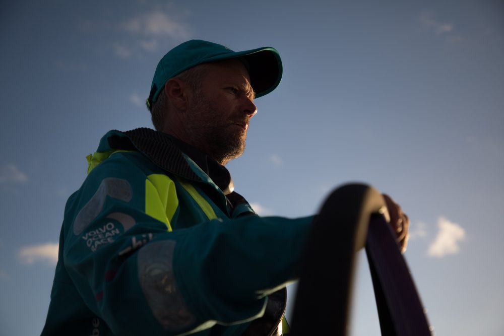 A previsão de chegada é na terça-feira (27) Foto: Rich Edwards/Volvo Ocean Race