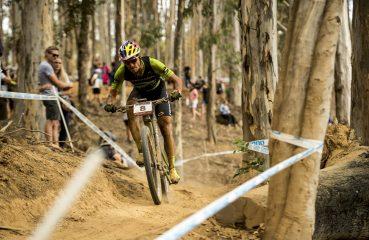 Henrique conquistou a inédita oitava colocação em uma etapa da Copa do Mundo UCI MTB XCO| Foto: Craig Kolesky/Red Bull Content Pool