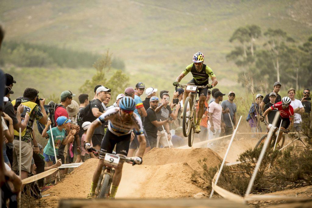 Performance de Henrique Avancini na Copa do Mundo UCI XCO em Stellenbosch, África do Sul em 10 de março de 2018 |Foto:Craig Kolesky/Red Bull Content Pool