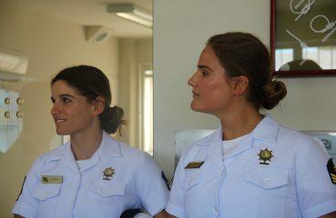 Martine e Kahena falaram dos seus planos para começarem o treinamento olímpico Foto: Christina Volpe/Webventure