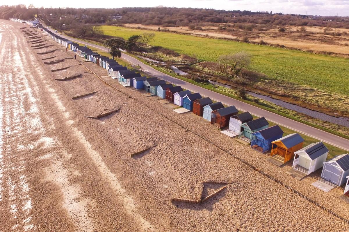 Calshot beach huts | Foto: arsovicy