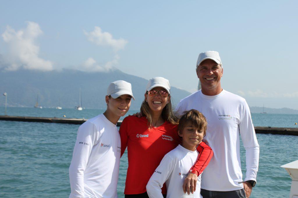 Roberta, Alex, Luca e Guilherme são a família do Áries Foto: Christina Volpe/Webventure