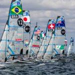 A dupla volta para água no sábado, quando disputa a final da competição Foto: Jesus Renedo/Sailing Energy