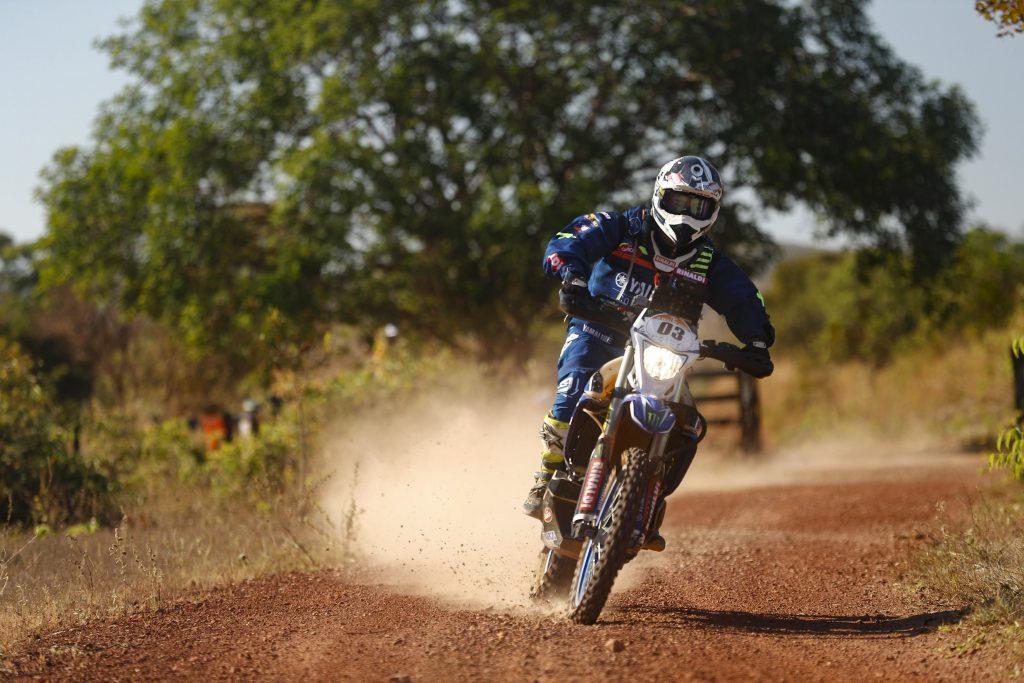 Ricardo Martins é o terceiro na classificação geral das motos no Sertões Foto: Marcelo Machado de Melo/Fotop/Vipcomm