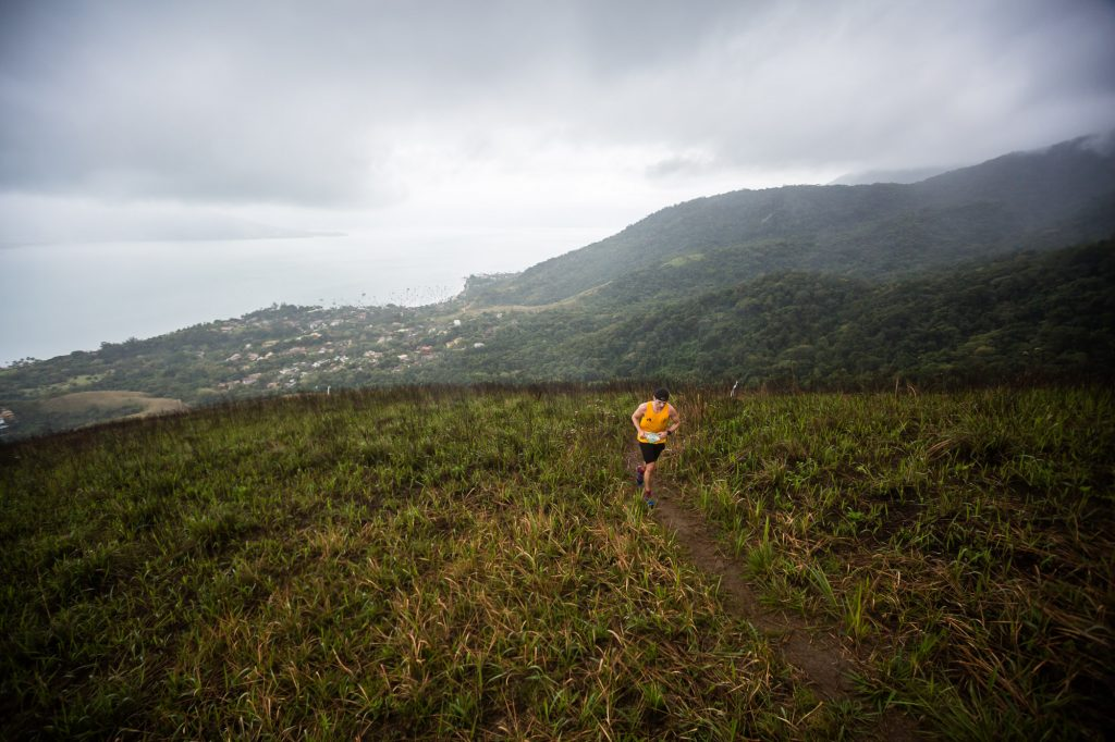 Nilson Rossiter na liderança dos 21 km Foto: Wladimir Togumi/Brasil Ride