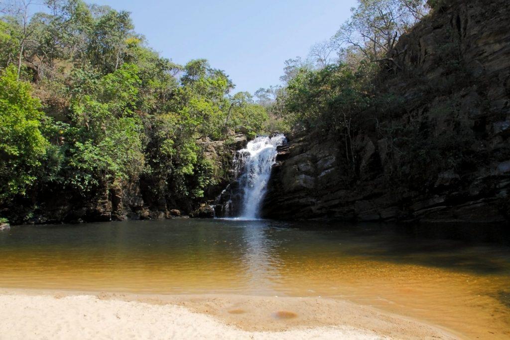 Cachoeira Santa Maria Foto: Eduardo Andreassi/Divulgação
