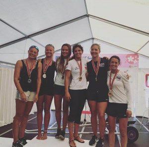 As regatas aconteceram no fim de semana, em um torneio curto Foto: Divulgação