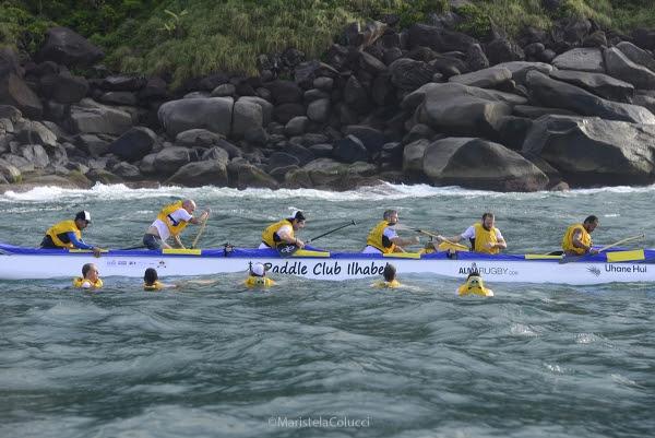 A Volta de Ilgabela - Conquista da Coroa será disputada por equipes de 12 atletas. | Foto: Maristela Colucci / Divulgação