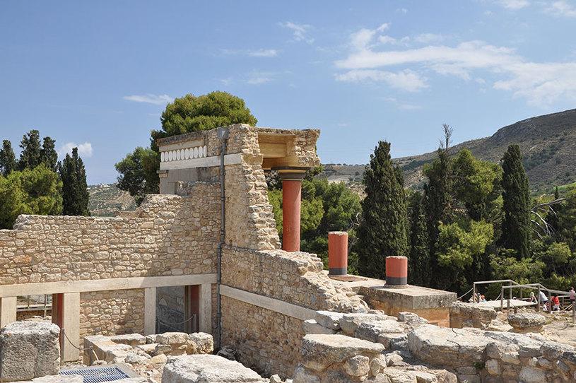 A Ilha de Creta tem as marcas do passado até hoje em sua arquitetura. Foto: Moonik/CC BY-SA 3.0