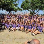Evento em homenagem ao Dia da Mulher reúne quase 150 escaladoras no Rio de Janeiro