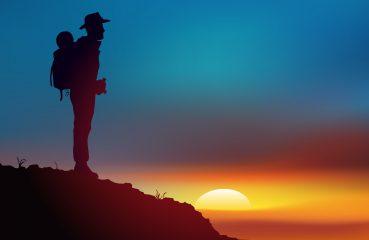 Baroudeur - coucher de soleil