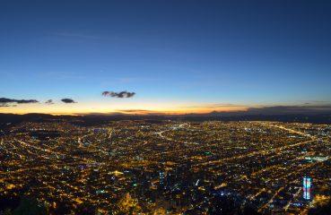 Foto: Vista do Cerro Monserrate/ Alejorules  (Fotolia)