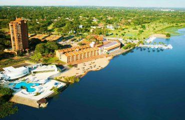 O Yatch Golf & Club fica a beira do Rio Paraguay Foto: Reprodução/Facebook