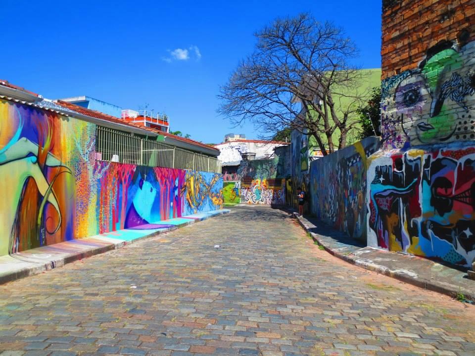 Ponto turístico do grafite na capital paulista/ Foto: Reprodução Facebook