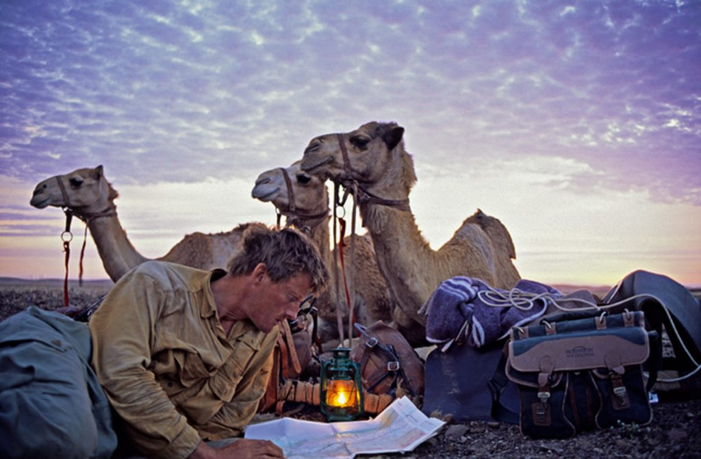 Em uma de suas aventuras ele cruzou um deserto com três camelos Foto: globetellers