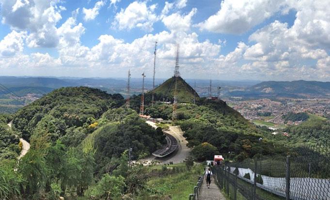 O parque abriga o ponto mais alto da cidade/ Foto: Wikipedia