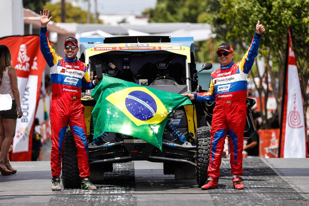 Largada do Rally Dakar 2018 Foto: Marcelo Machado de Melo/photosdakar.com