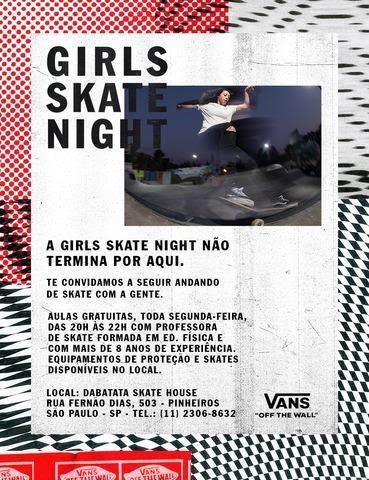 A Girls Skate Night é só um capítulo de Isso É Off The Wall. | Foto: Divulgação.