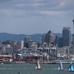 As velas saíram da Auckland no último domingo, 18 de março.   Foto; Ainhoa Sanchez/Volvo Ocean Race