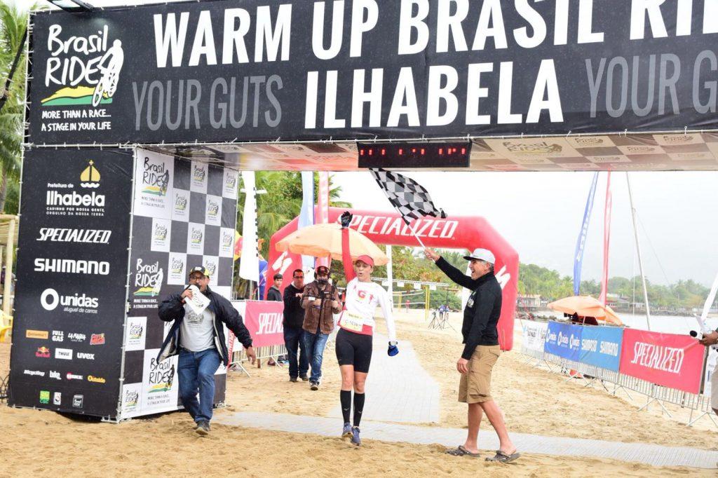 Geisla dos Santos foi a mais rápida nos 7,5 km feminino Foto: Fernanda Balster/Fotop