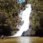 Cachoeira Santo Isidro é um dos pontos mais bonitos do local Foto: Divulgação