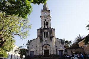 No Largo do Rosário, a Igreja do Rosário. Foto: arquivo pessoal.