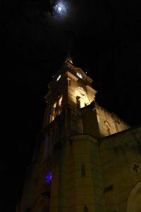 No Largo do Rosário e lua cheia. Foto: arquivo pessoal.