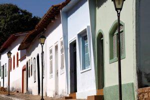A cidade se impõe com seus casarões do século XVIII. Foto: arquivo pessoal.