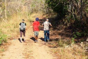 Trekking no Morro de São Francisco (ou trekking no geral). Foto: arquivo pessoal.