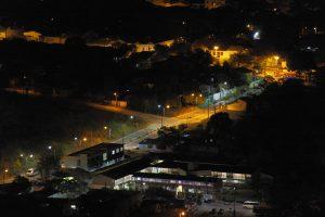 Vista noturna da Cidade de Goiás. Foto: arquivo pessoal.