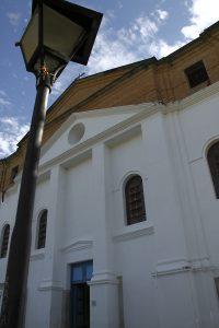 Igreja de Nossa Senhora do Carmo; construída em meados do século XVIII. Foto: arquivo pessoal.