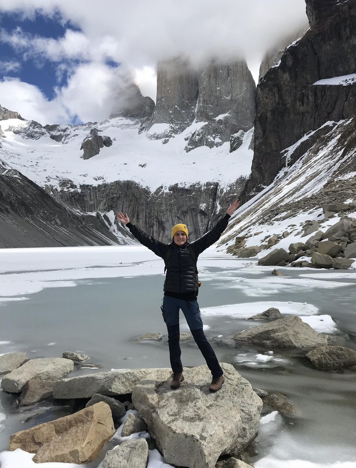 Finalmente nas Torres del Paine